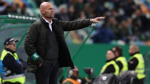 """Keizer assume que Sporting """"não fez uma boa segunda parte"""" frente ao Moreirense"""