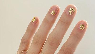 Unhas minimalistas: a tendência de manicura que está em todo o lado