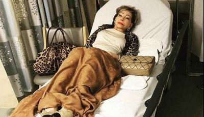 Mulher de José Castelo Branco está no hospital