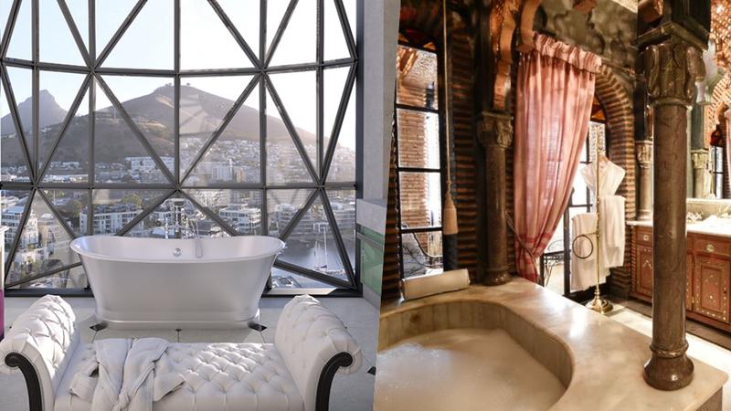 As casas de banho de hotel mais bonitas do mundo