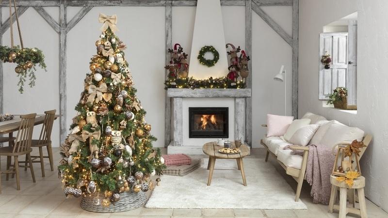 Sugestões de estilos de Natal para decorar a sua casa