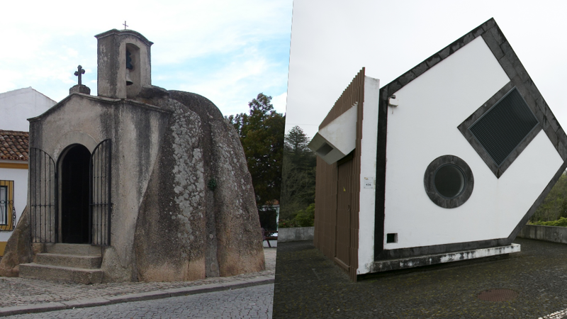 Capelas em rochas e casas ao contrário: Estes são os edifícios mais estranhos de Portugal