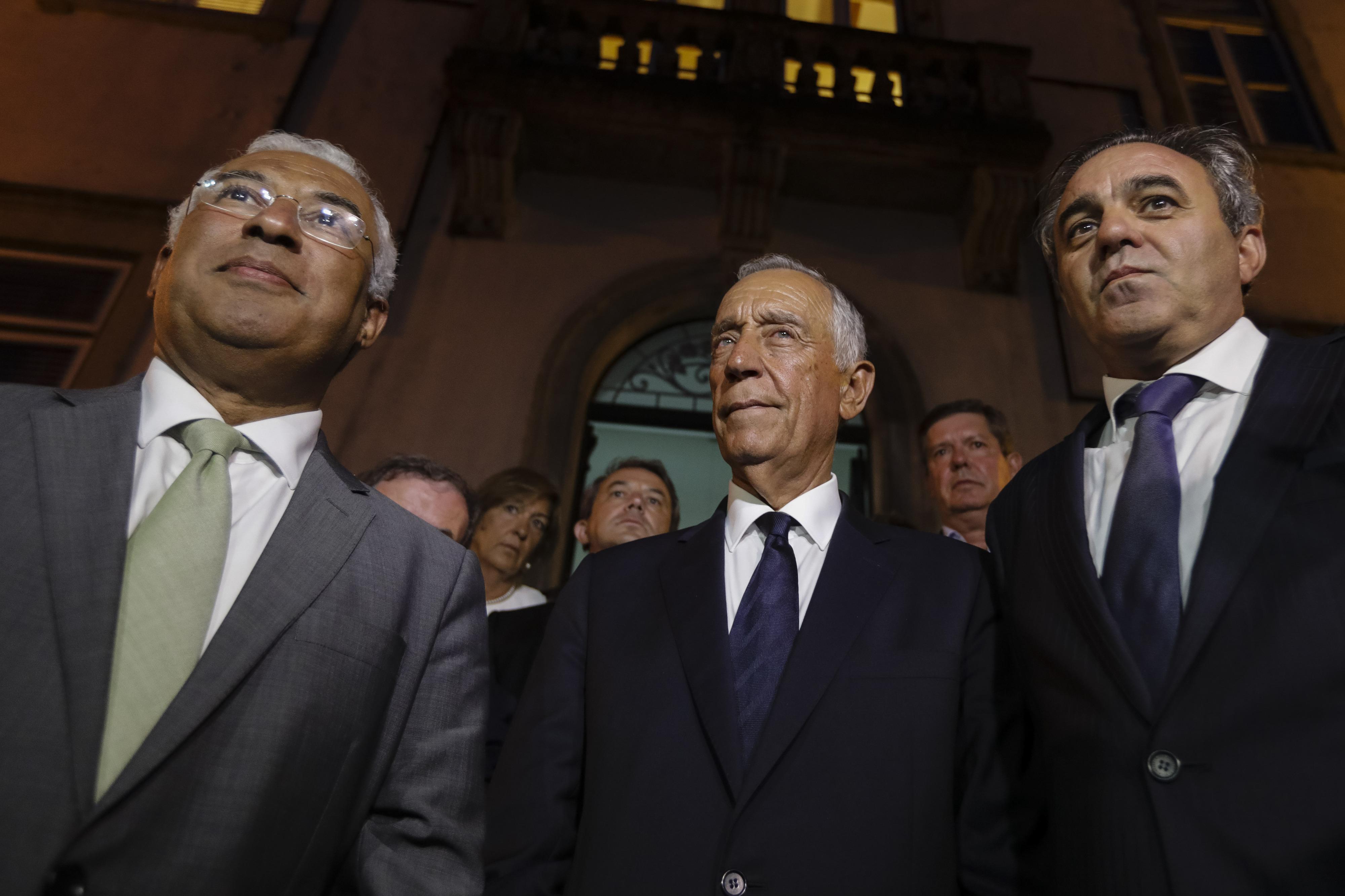 Presidente da República viajou para Barcelona para participar hoje na missa pela paz