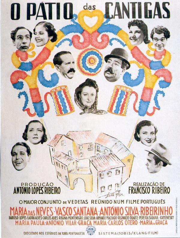 Cinema português 1942 «o pátio das cantigas» youtube.