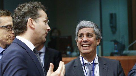 Eurogrupo discute plano orçamental português quinta-feira