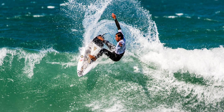 Vasco Ribeiro quer continuar a mostrar o seu surf em Peniche
