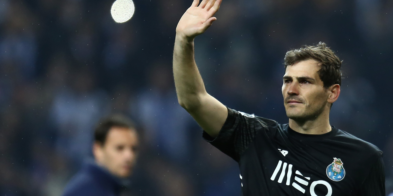 "Casillas cruzou-se com Vítor Baía: ""Orgulhoso de defender a mesma baliza"""