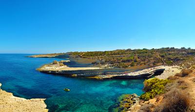 As praias e piscinas naturais para descobrir em Malta este verão