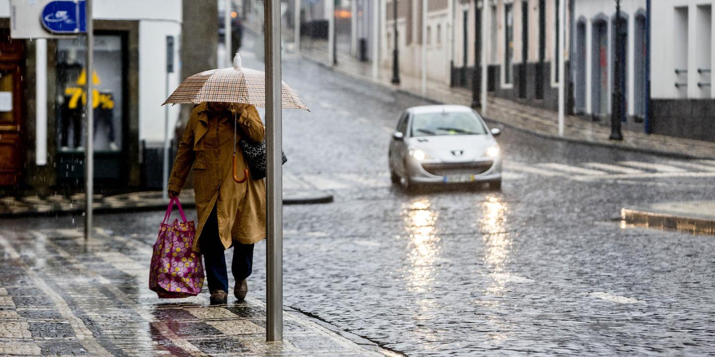 Faial, Pico, São Jorge, Terceira e Graciosa sob aviso amarelo devido à chuva e vento