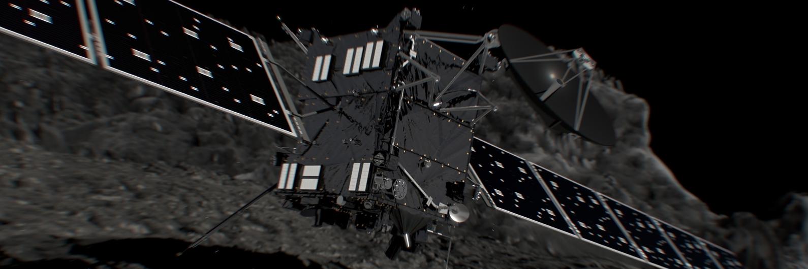 O fim da missão Rosetta. Sonda despenhou-se no cometa que estudou