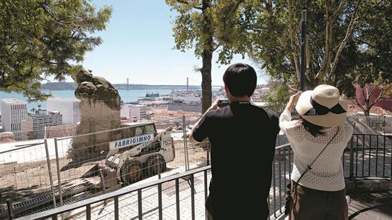 Lisboa: Miradouro do Adamastor fechou há mais de um ano. O que se passa?