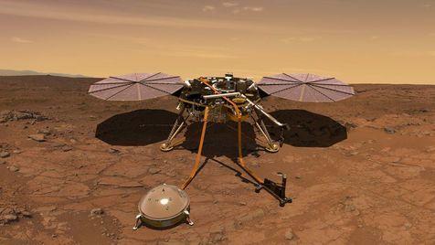 Sonda deteta possível sismo em Marte
