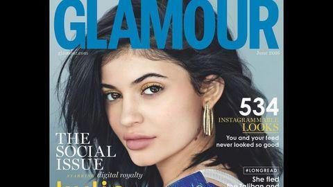 Kylie Jenner é capa da Glamour