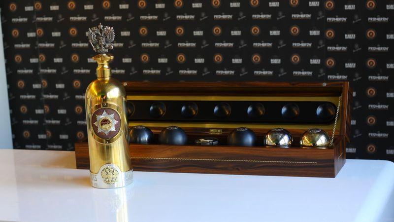 A garrafa de Vodka mais cara do Mundo foi encontrada na Dinamarca. Custa mais de 1 milhão de euros