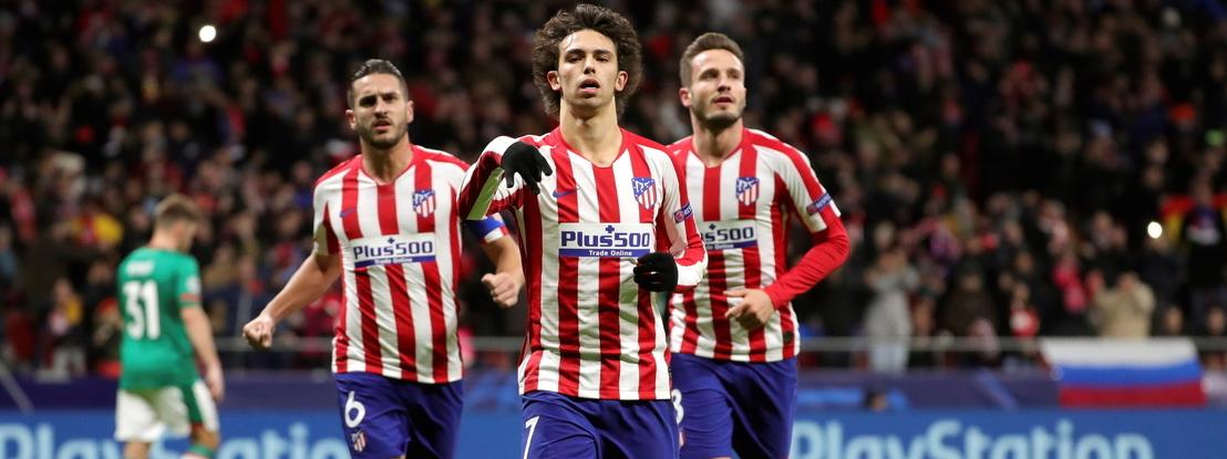 Atlético Madrid apura-se com golo de João Félix. Ronaldo marca na vitória da 'Juve' e 'ajuda' Benfica