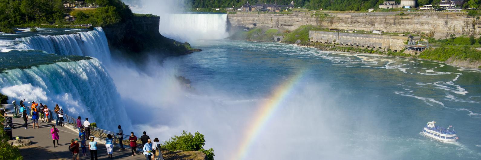O dia em que o Niagara secou