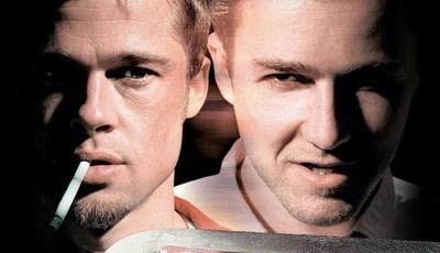 """Brad Pitt e Edward Norton abriram """"Clube de Combate"""" há 20 anos"""