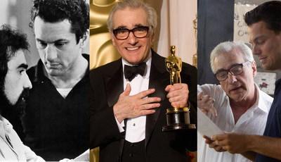Uma vida atrás das câmaras: Os 75 anos do realizador Martin Scorsese em imagens de bastidores