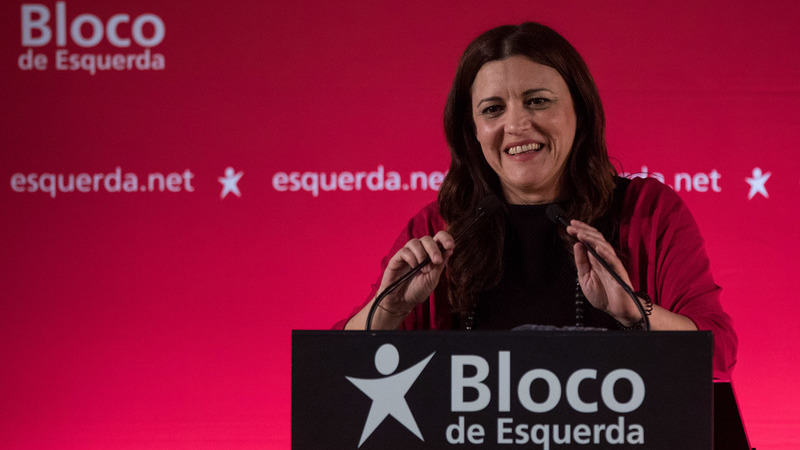 Bloco de Esquerda: Marisa Matias assume compromisso de defender o Estado social