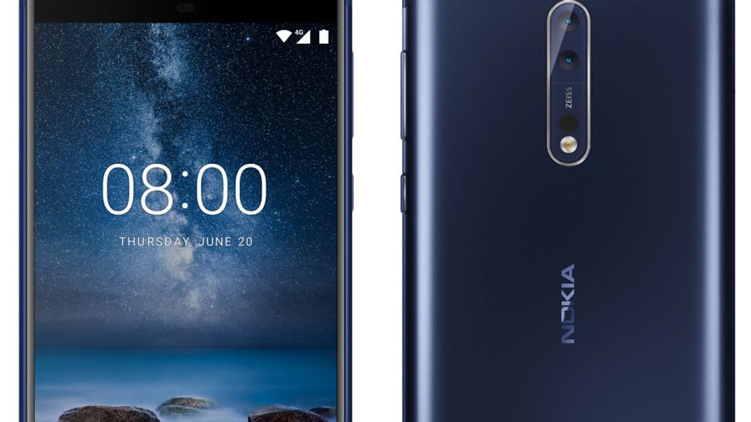 Mostre os dois lados da história com o Nokia 8