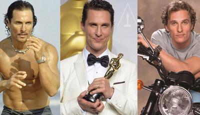 Matthew McConaughey: Os filmes do surfista que vestiu a camisa, perdeu peso e ganhou o Óscar