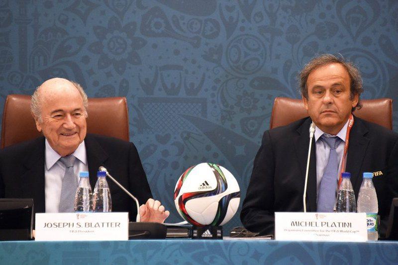 Blatter e Platini convidados para estar no Mundial 2018