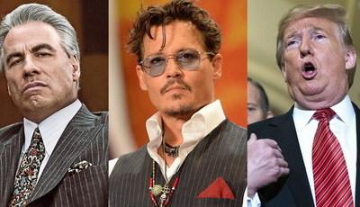 "Razzies: John Travolta, Johnny Depp e Donald Trump nomeados para ""Óscares"" dos piores"