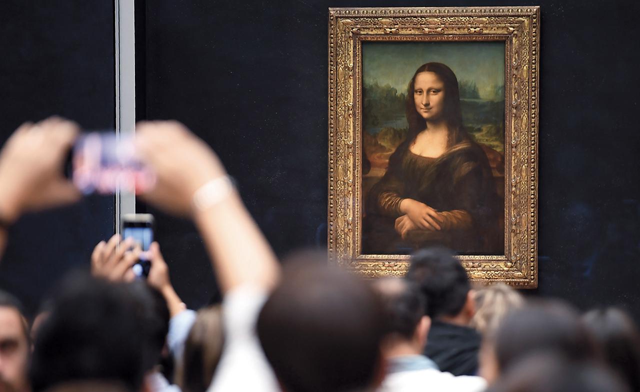 Louvre. Leonardo da Vinci superstar
