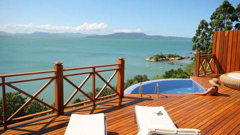 Mergulhe na exclusividade: hotéis de sonho com piscinas privadas