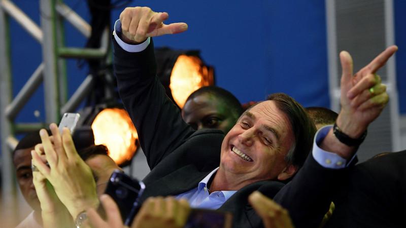 Brasil: Investidores aplaudem possível vitória de Bolsonaro