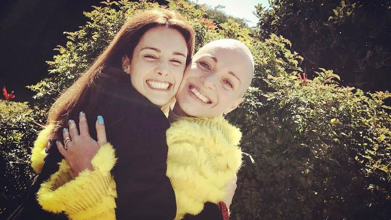 "Marta Andrino apoia a mãe: ""A mais bonita"""