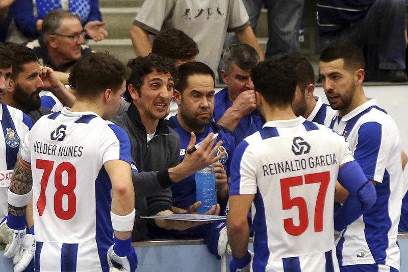 """Treinador do FC Porto: """"É um momento triste"""" para o hóquei em patins"""