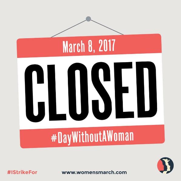 Vai juntar-se à nova greve das mulheres Dia 8 de março é o dia