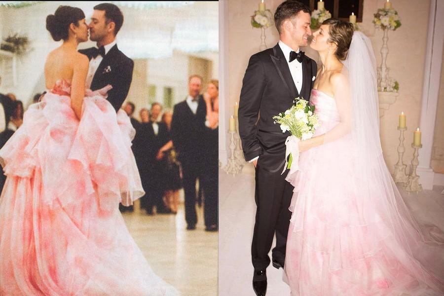 Vestido de Noiva Jessica Biel
