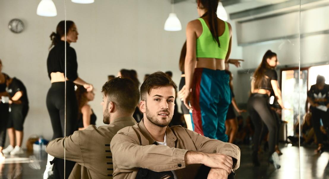 David Carreira a caminho da Altice Arena: os bastidores do casting de bailarinos
