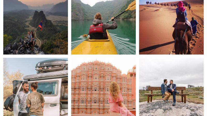 Viagens de Instagram: vamos de camelo, autocaravana ou de canoa?