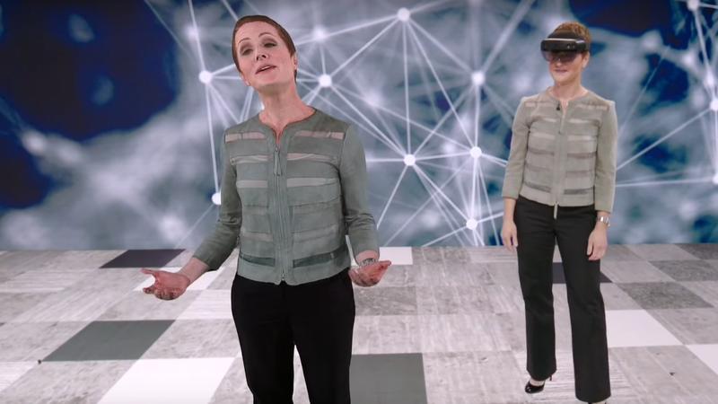 Mais um passo à frente na realidade virtual: Hololens 2 projeta holograma que traduz discurso para japonês