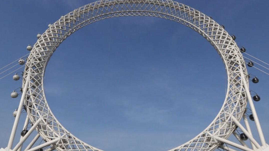 A roda gigante... que não roda