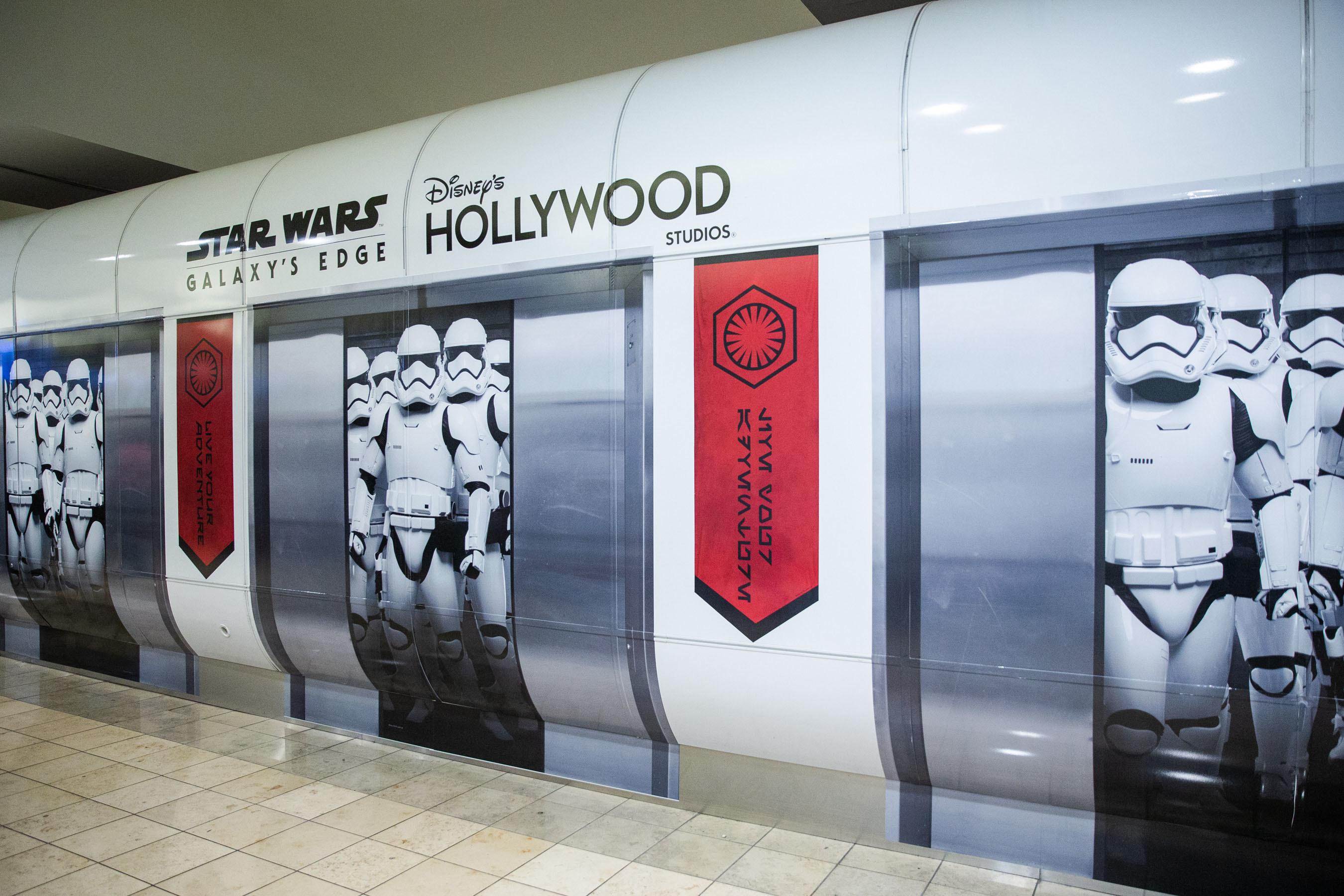 Fãs do Star Wars, a Força estará convosco no Aeroporto Internacional de Orlando