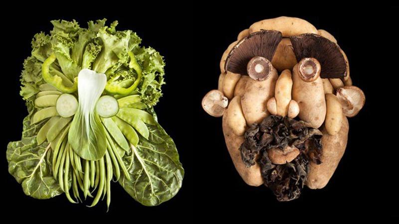 """As """"caras feias"""" da fotógrafa Emily alertam-nos para a diversidade alimentar"""