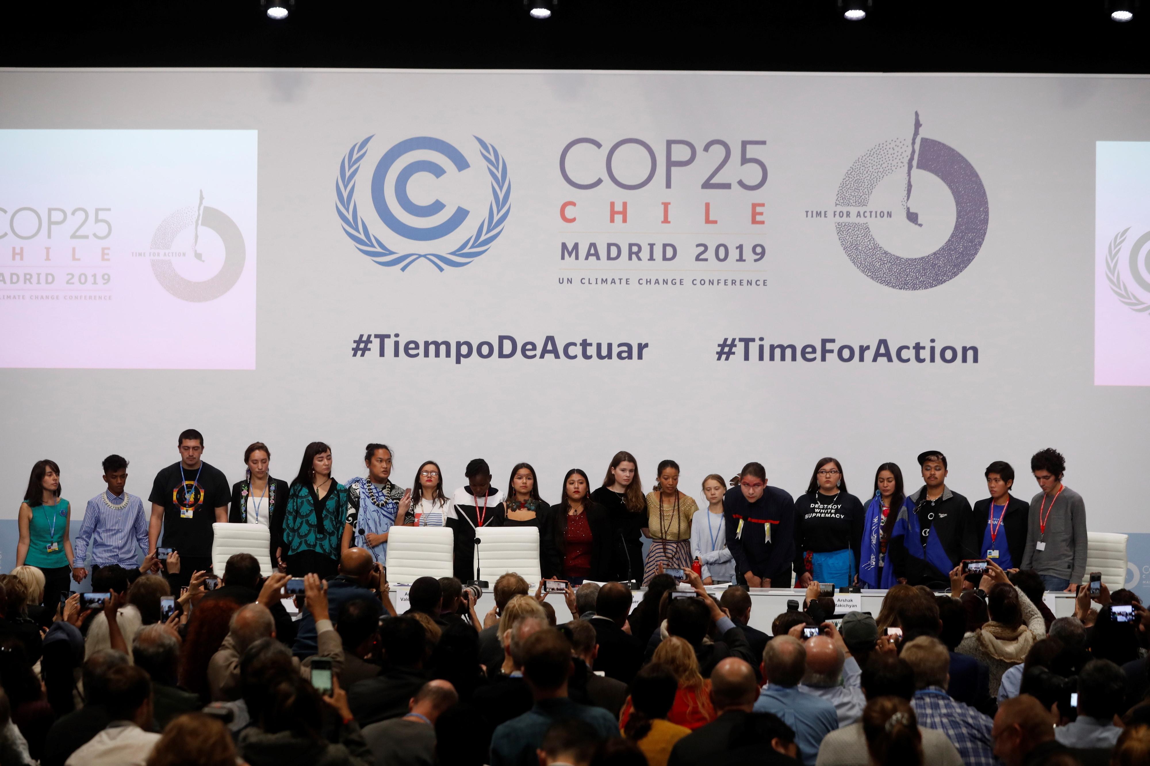 """COP25: Discórdia sobre falta de ambição divide plenário de conferência em """"tempo extra"""""""