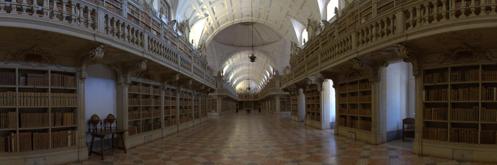 Uma das bibliotecas mais bonitas do mundo fica em Mafra