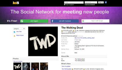 "FOX promove nova temporada de ""The Walking Dead"" no... Hi5"