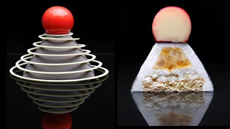Os incríveis bolos geométricos de uma arquiteta que também é chefe de pastelaria