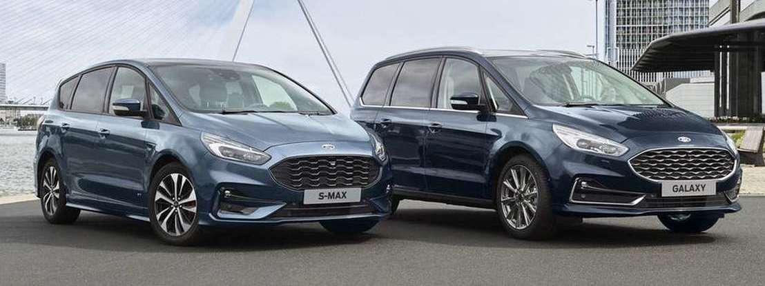 Novos Ford S-Max e Galaxy passam a contar com versão híbrida