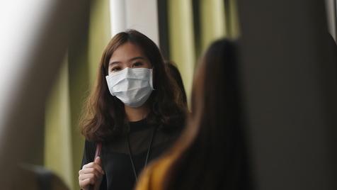 Na China não há gretas, há poluição