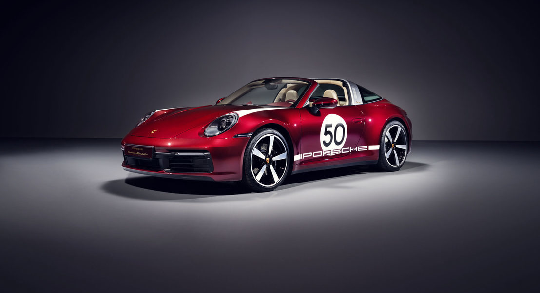 Tributo à tradição: 911 Targa 4S Heritage Design Edition