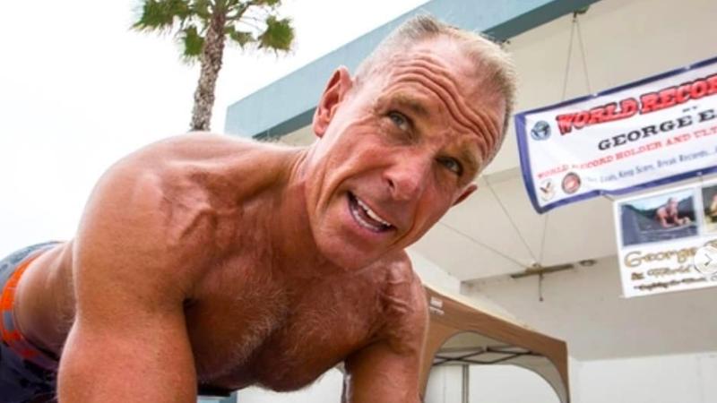 Homem aguenta mais de 8 horas em posição de prancha e bate o recorde do Guiness