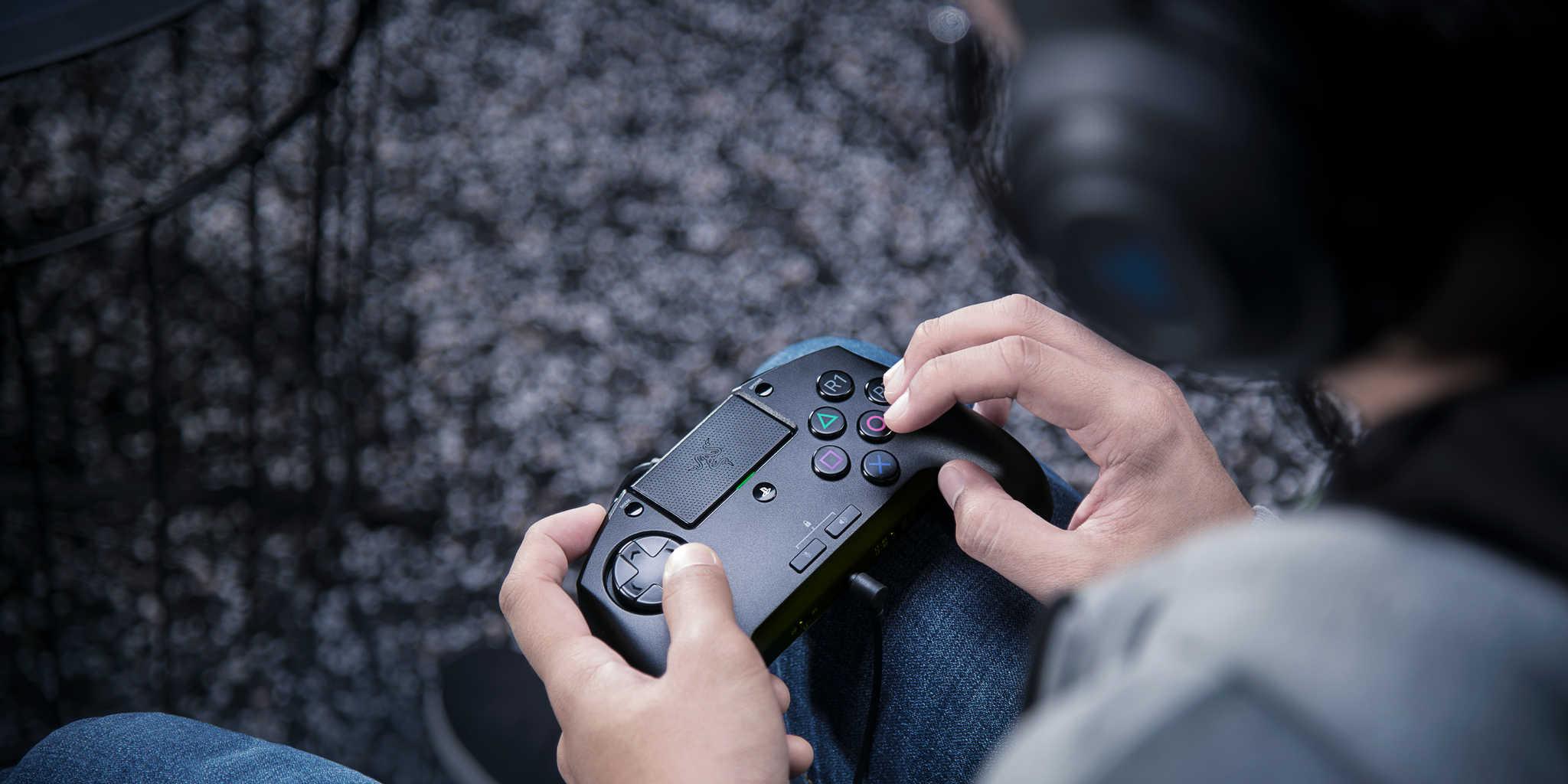 """Razer apresenta novo comando para a PS4 com um """"cheirinho"""" de máquinas arcade"""