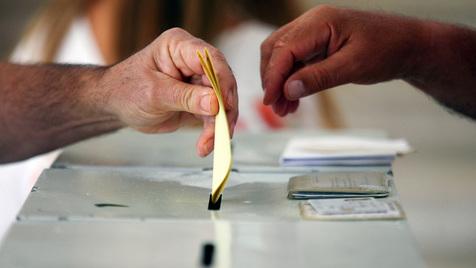 O acto de votar